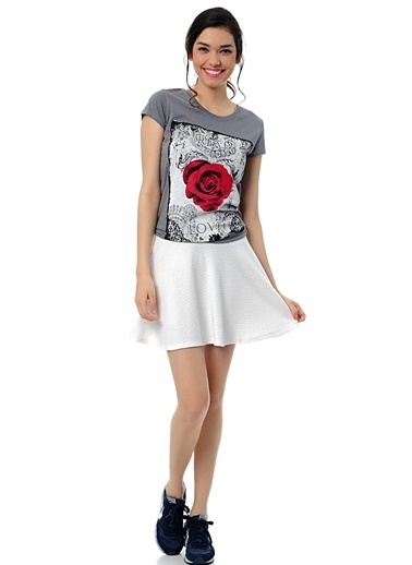 Fashion Friends Tişört Gri
